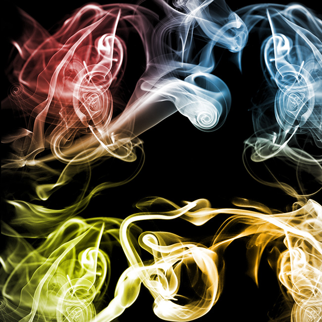 colorful smoke background texture set small Colorful free smoke texture