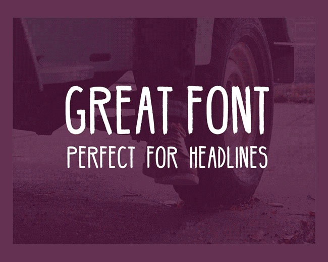 hipster 100 Best free fonts to use for creating a logo