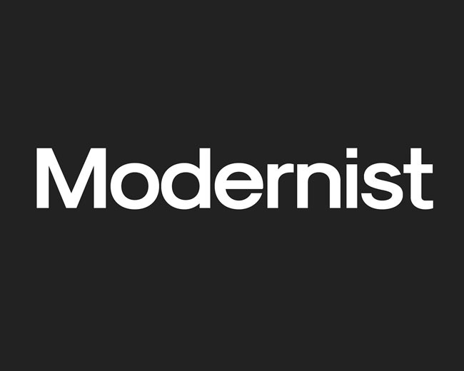 modernist 100 Best free fonts to use for creating a logo