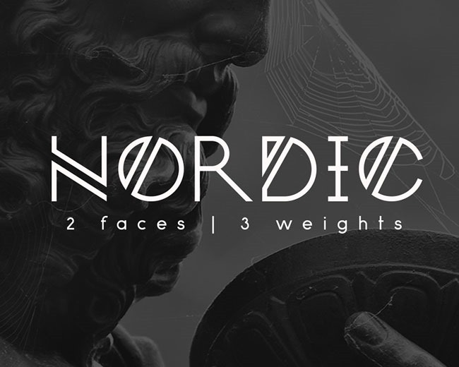 nord 100 Best free fonts to use for creating a logo
