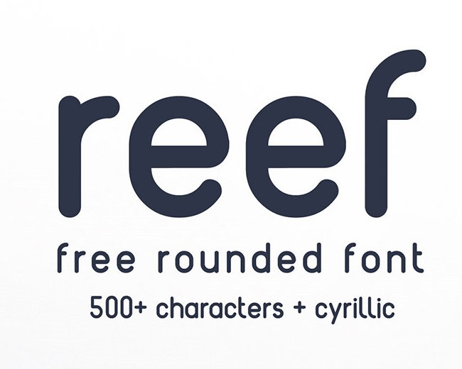 reef 100 Best free fonts to use for creating a logo