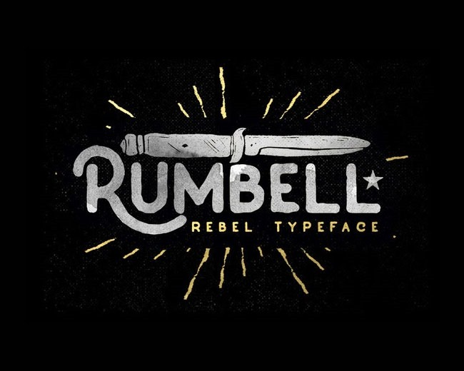 rumbell 100 Best free fonts to use for creating a logo