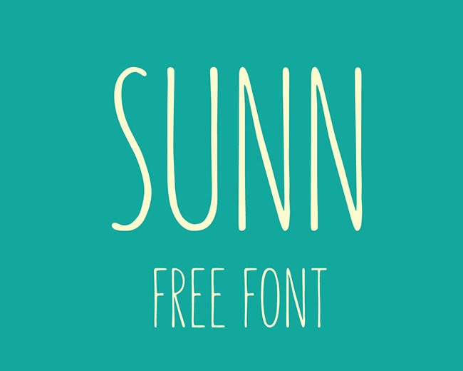 sunn 100 Best free fonts to use for creating a logo