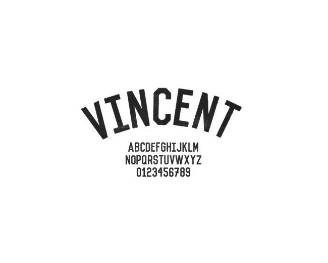 vincent 100 Best free fonts to use for creating a logo