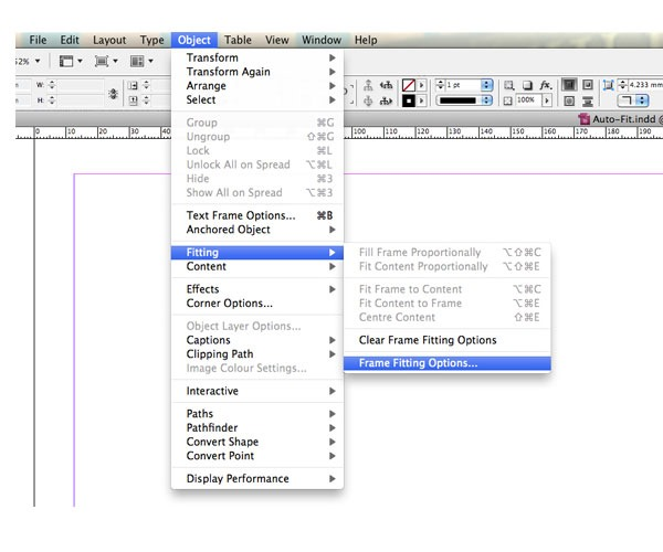 auto fit 60 best tutorials for learning InDesign