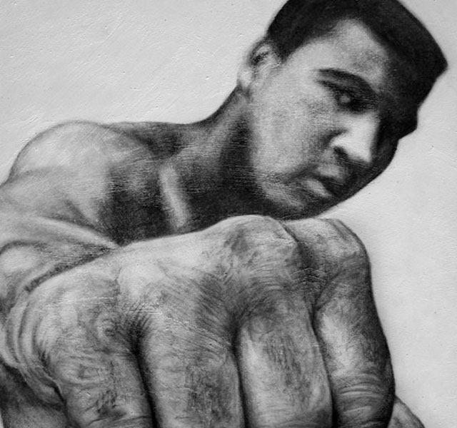draw illustration RIP Mohammed Ali the world's greatest boxer – illustration showcase