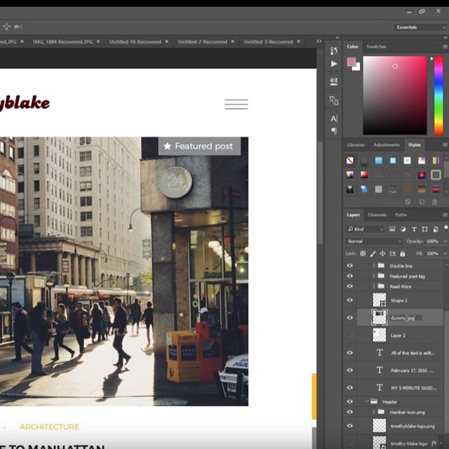 export How to export assets in Photoshop the fastest way