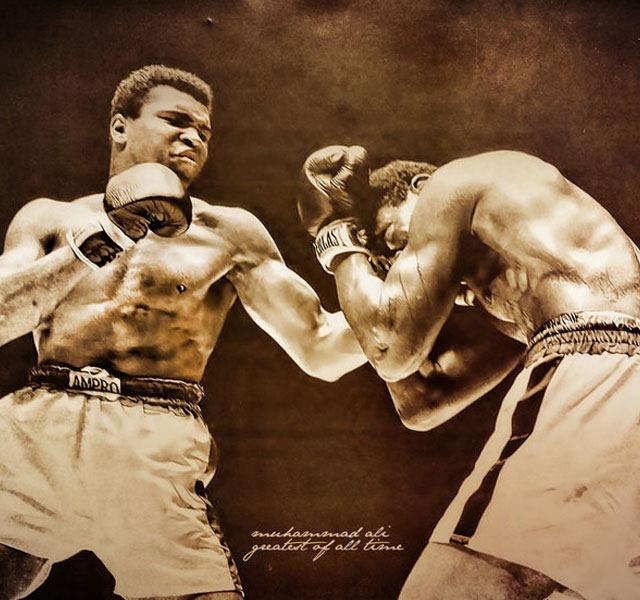 mohammed ali boxing RIP Mohammed Ali the world's greatest boxer – illustration showcase
