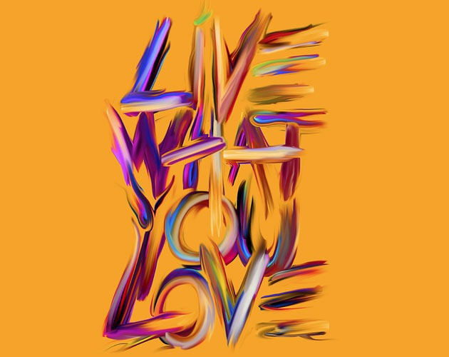 live 50 beautiful must see examples of creative typography