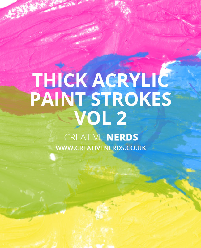 paint stroke brush 1 Thick acrylic paint strokes free Photoshop brush set vol 2