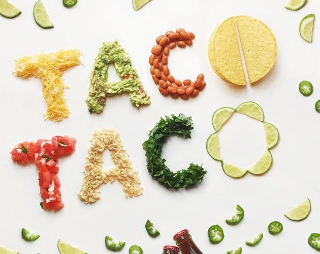 taco 50 beautiful must see examples of creative typography