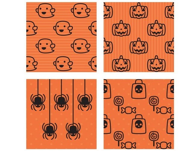 halloween pattern cute 40 Essential free Halloween vectors and icons