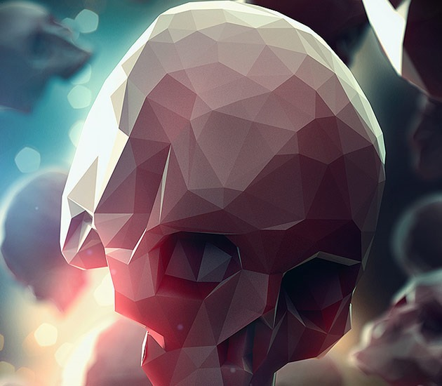 skull 20 Beautiful examples of Low Poly design illustrations