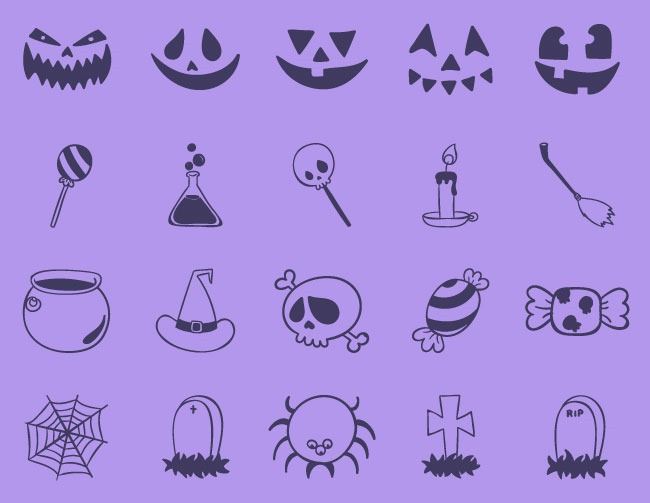 terrying icons 40 Essential free Halloween vectors and icons