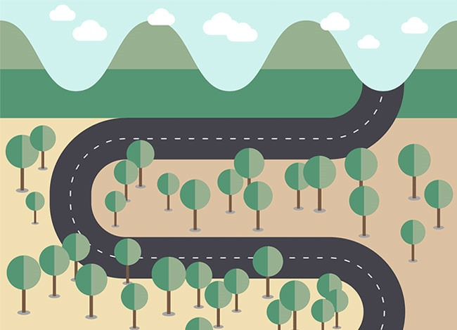 vector map Best of the web for Design and Web Development October 2016