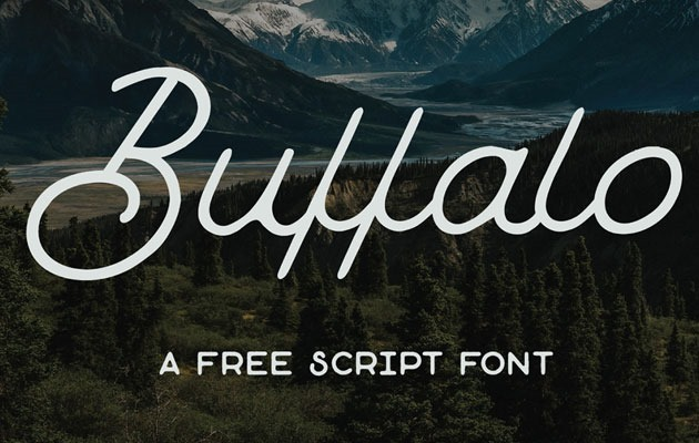 buffalo 50 best free fonts from 2016