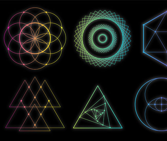 geometric shapes 60 best Illustrator tutorials from 2016