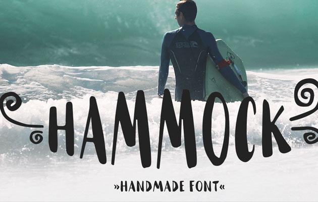 hammock 50 best free fonts from 2016