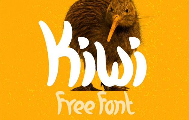kiwi 50 best free fonts from 2016