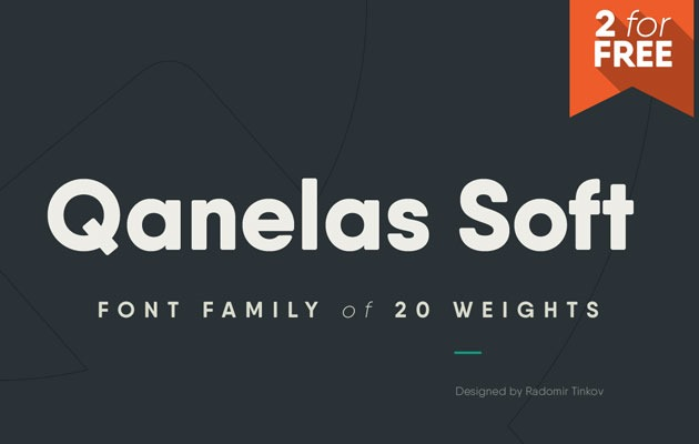 quaneless soft 50 best free fonts from 2016