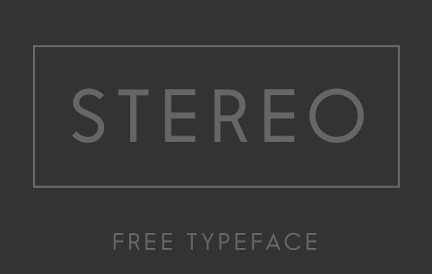 stero 50 best free fonts from 2016