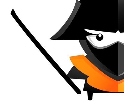 29 How to create an angry little samurai using Illustrator