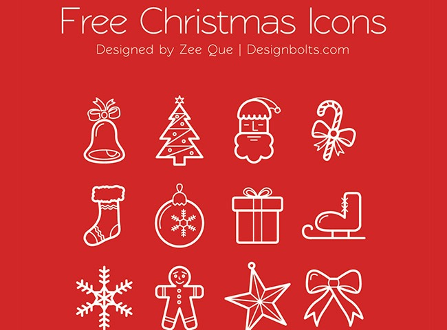 beautfil christmas icons 25 Free Christmas themed icon sets