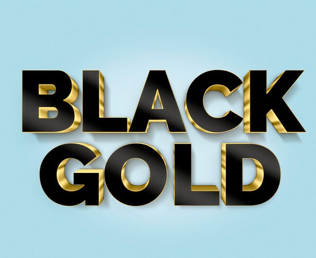 black gold 80 best Photoshop tutorials created in 2016
