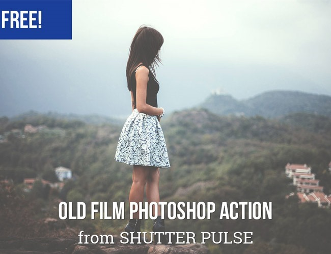 old film 100 Must download free Photoshop actions (And everything else you should know)