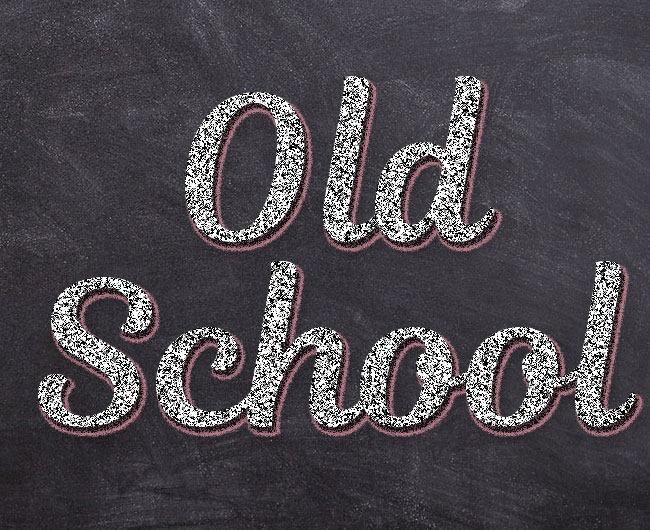 old-school