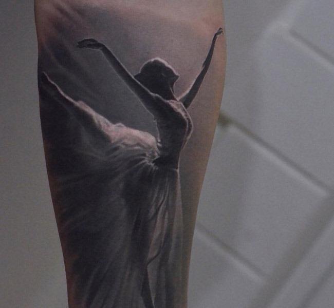ballerina 35 Mind blowing realistic tattoo designs