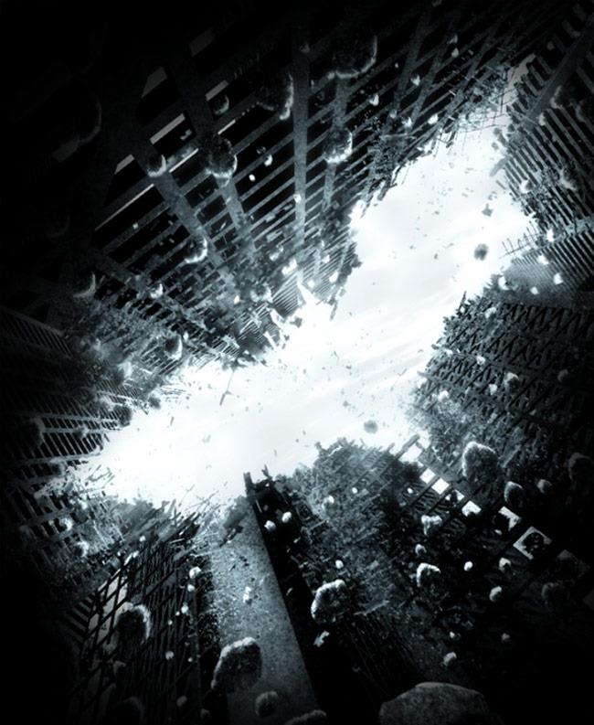 dark night 20 Photoshop tutorials for creating movie posters