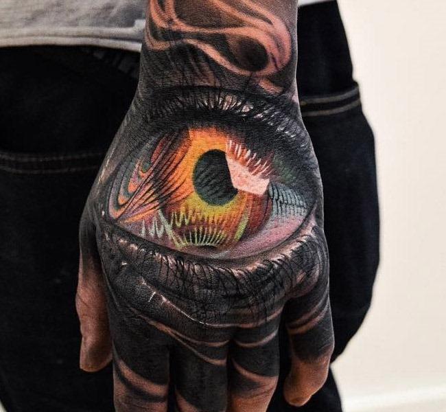 hand-tattos