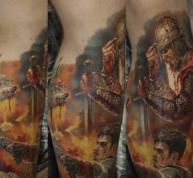 medival 35 Mind blowing realistic tattoo designs