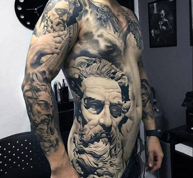 rome 35 Mind blowing realistic tattoo designs