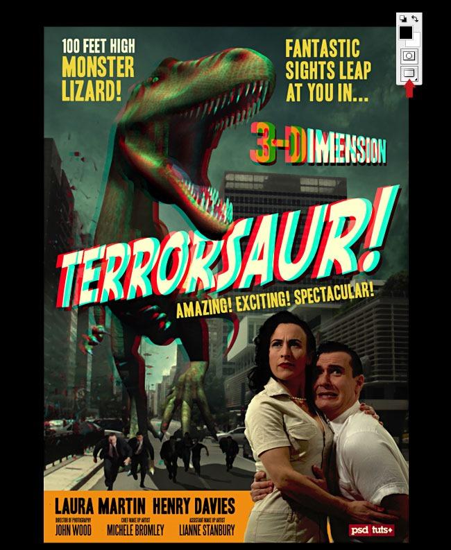 terrasaur 20 Photoshop tutorials for creating movie posters