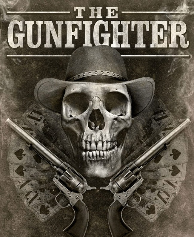 the gun fighter 20 Photoshop tutorials for creating movie posters