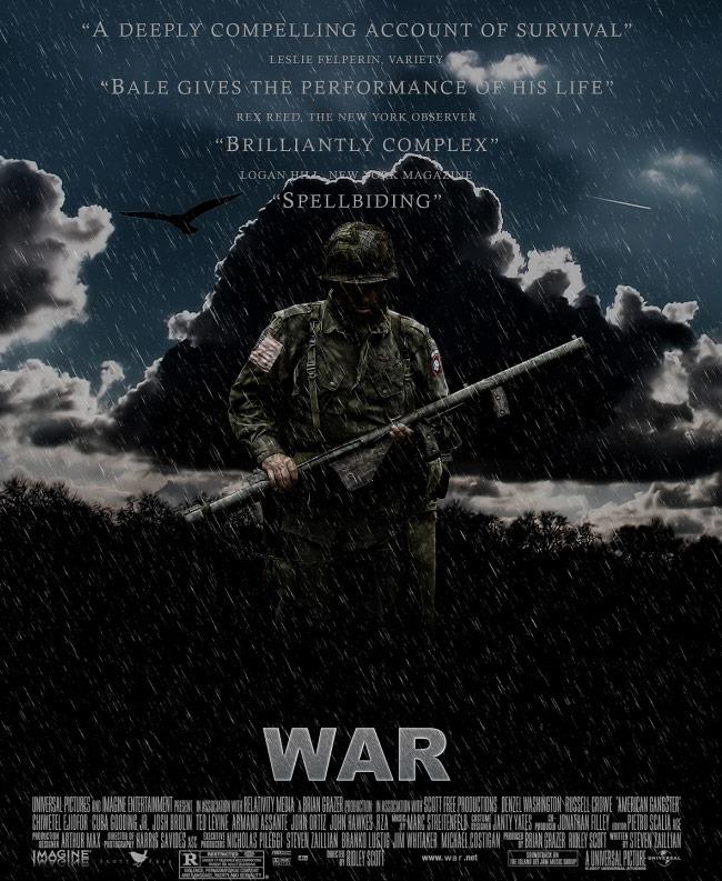 war movie 20 Photoshop tutorials for creating movie posters