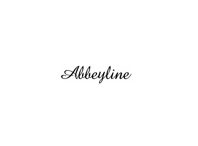 abbeyline 50 free must download Calligraphy fonts