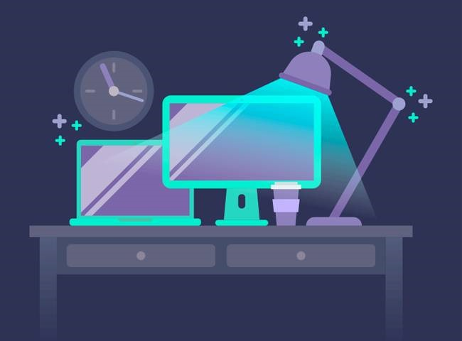 desktop illustration Best of the web for Design and Web Development February 2017