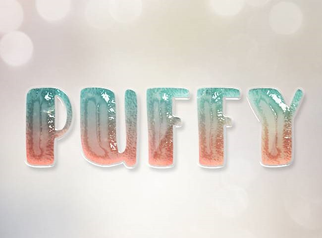 puffy-text
