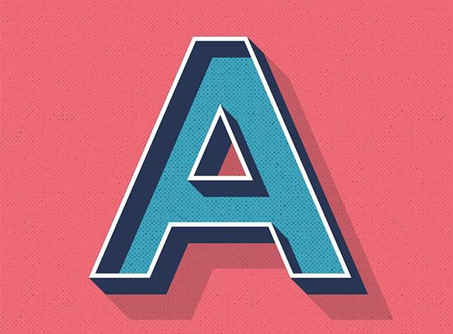 retro letter Best of the web for Design and Web Development February 2017