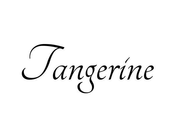 tangerine 50 free must download Calligraphy fonts