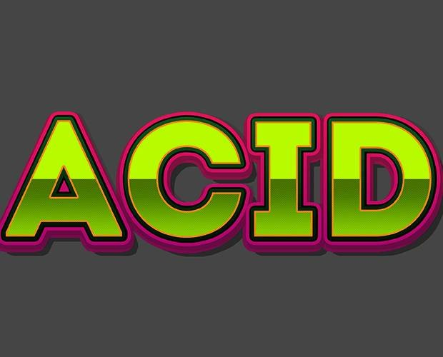 acid 40 Fresh new Photoshop tutorials from 2017