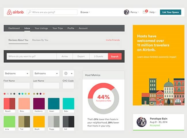 style guide Best of the web for Design and Web Development March 2017