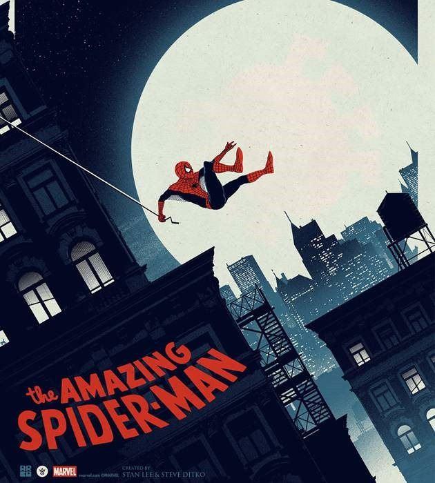 amazing spiderman 20 epic movie poster illustration designs