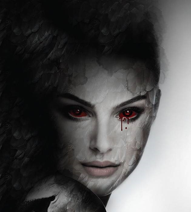black swan 20 epic movie poster illustration designs