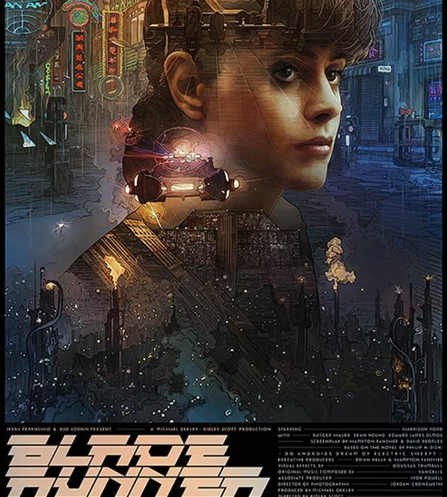 blade runner 20 epic movie poster illustration designs