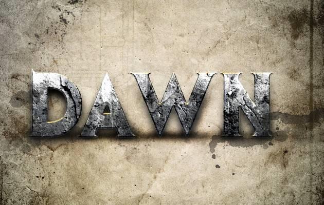 dawn 80 amazing modern Photoshop text effect tutorials