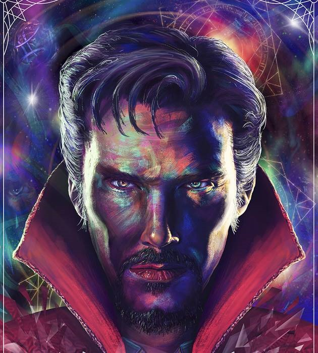 dr strange 20 epic movie poster illustration designs